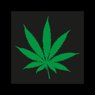 Pot Leaf vector logo