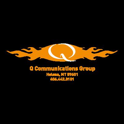 Q Communications vector logo