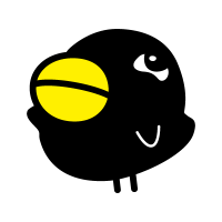 QR Karasuto-kun vector logo