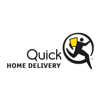 Quick Home Delivery vector logo
