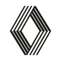 Renault old 1992 vector logo