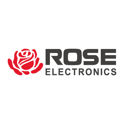 Rose Electronics vector logo