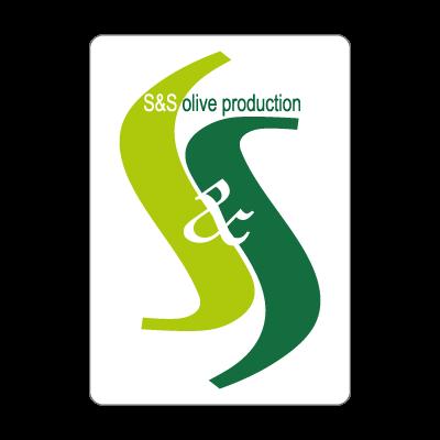 S & S olives vector logo