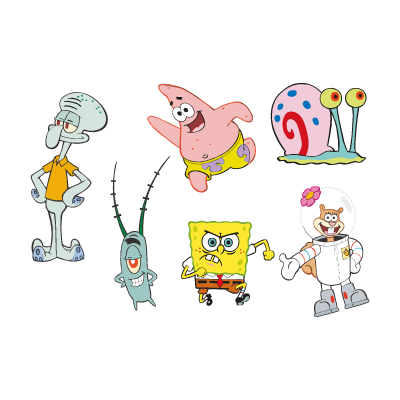 Spongebob Squarepants cartoon vector logo (.eps, .ai, .cdr ...