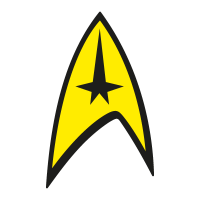 Star Trek vector logo