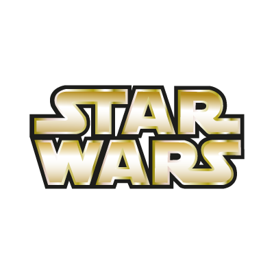 star wars gold vector logo eps ai cdr pdf svg free download rh freevectorlogo net star wars free vector download logo star wars vectoriel