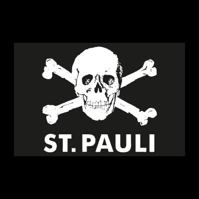 St.pauli totenkopf vector logo