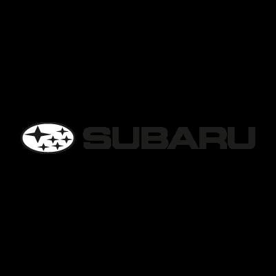 Subaru auto old vector logo