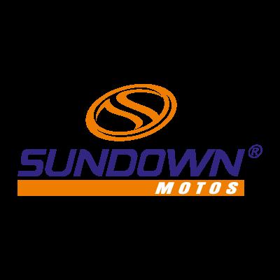 Sundown Motos vector logo
