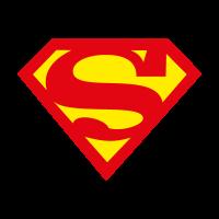 Superman char vector logo