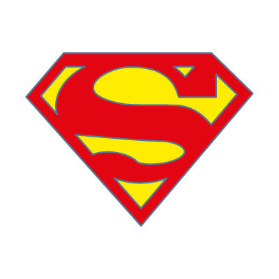 Superman fiction vector logo