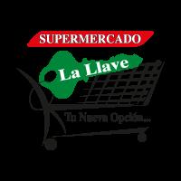 Supermercado La Llave vector logo