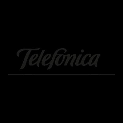 Telefonica black vector logo