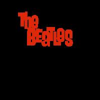 The Beatles a hard day's night vector logo