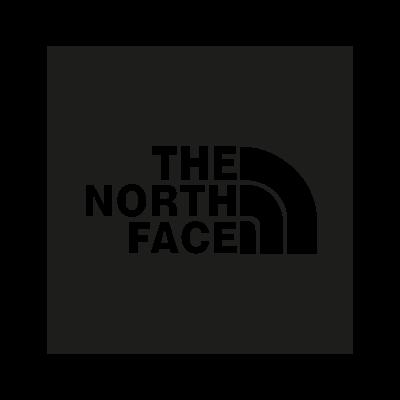 The North Face black vector logo