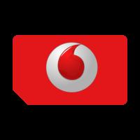 Vodafone brandnew 3D vector logo