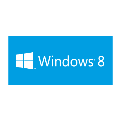 Windows 8 (.EPS) vector logo