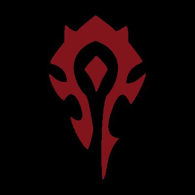 world of warcraft horde vector logo freevectorlogonet