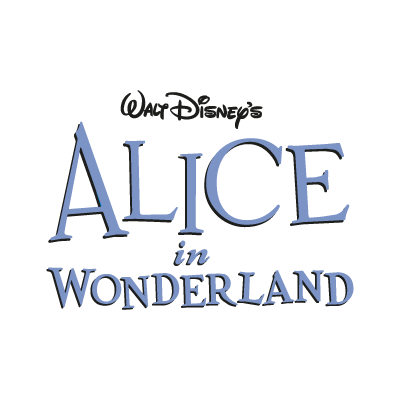 Disney's Alice in Wonderland vector logo