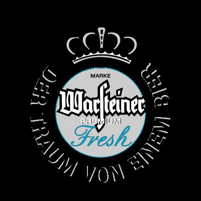 Warsteiner Premium Fresh Beer vector logo